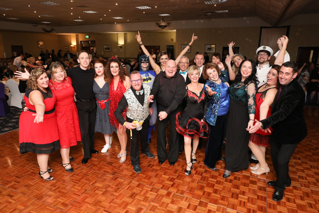 Katharine House Black Strictly Stafford 2017