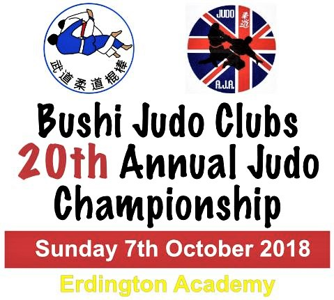 Bushi Judo Clubs 20th Annual Championship